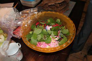 Salade van 23 soorten blaadjes
